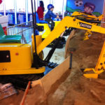 Kids Excavator For Sale  – Beston Amusement
