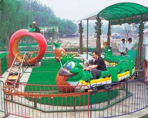 Beston fruitworm roller coaster for kids
