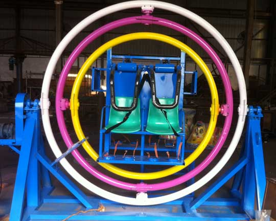 4-seat Human Gyroscope Carnival Rides for Sale in Beston: