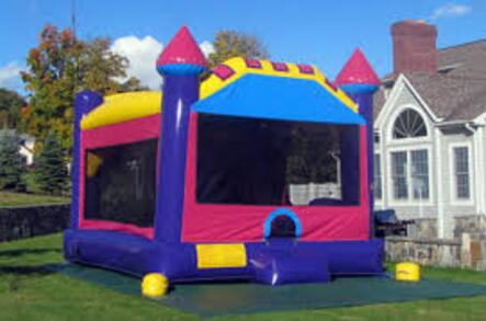 renting a kids inflatable bounce house for a party - Inflatable Bounce House