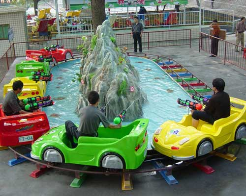 Small Track Car Roller Coaster For Sale