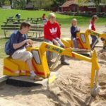 Taking Your Kids On An Excavator Ride