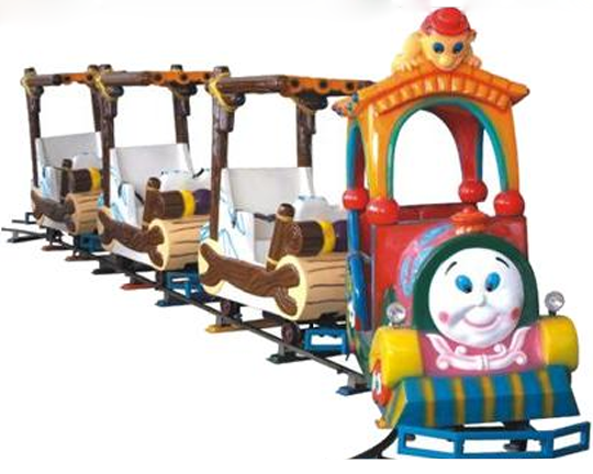 BAR-005 Vintage Amusement Park Train Rides for Sale: