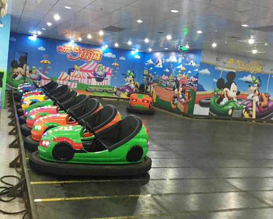 BAR-039 Floor Net Electric Bumper Cars for Sale