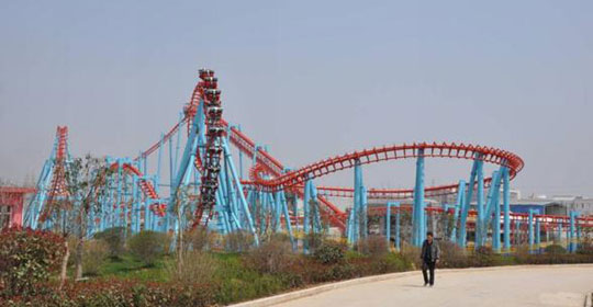 big roller coaster sold by Beston