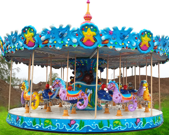 BAR-18A Ocean Themed Carousel Rides for Sale