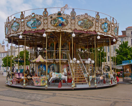 Quality double decker Fairground Carousel Rides for sale