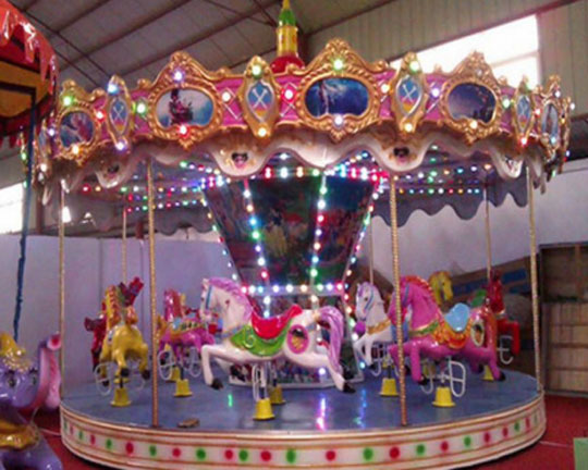 BAR-12A Quality Merry Go Round Carousel for Sale in Beston