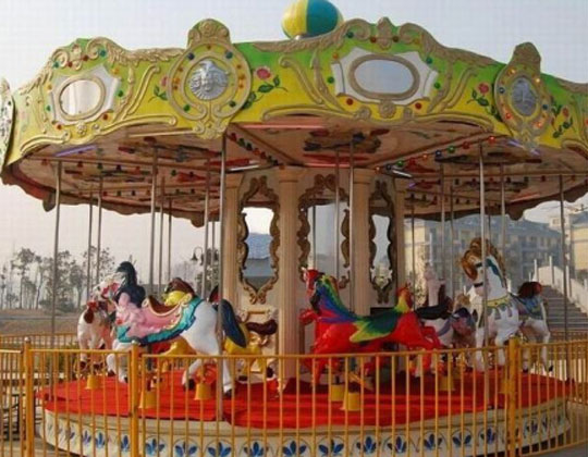 BAR-024A Beston Hot Sale Carousel Fairground Rides Cheap