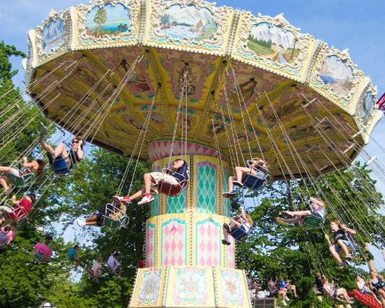 top chair swing ride manufacturer in China