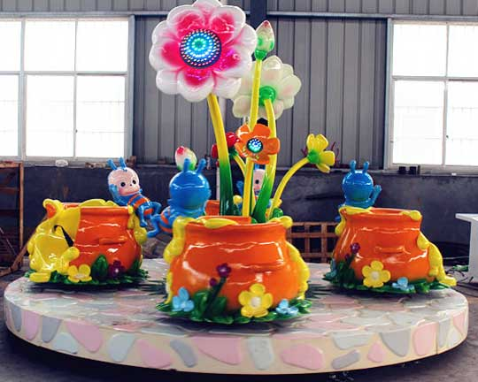 top flower tea cup rides supplier in China