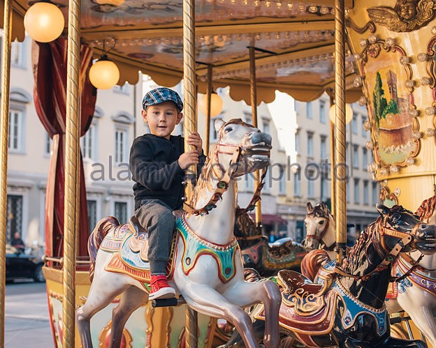 How To Help Your Child Enjoy The Ride On A Small Carousel
