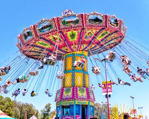 Looking At The Miami Funfair Ride For Sale