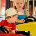 Mini Bumper Cars Provide A Thrilling Experience For Children