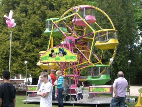 Renting A Mini Ferris Wheel For A Birthday Party