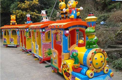 Renting Kids Train Ride