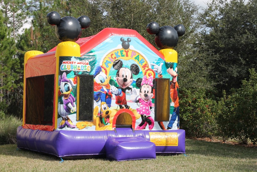 What To Look For In A Mickey Mouse Themed Bounce House