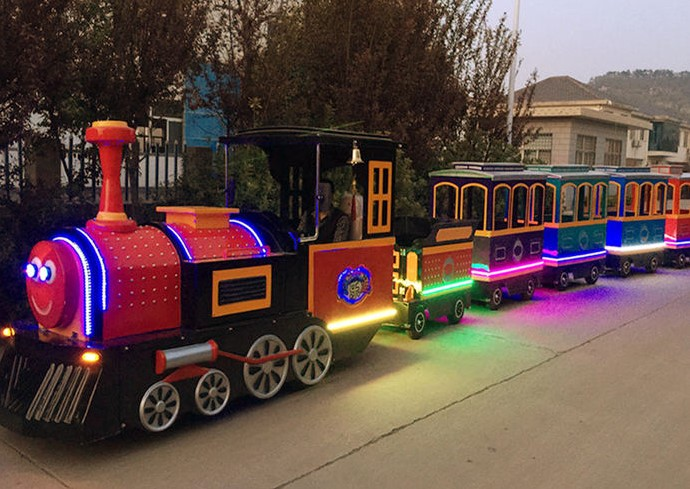 All About The Shopping Mall Trackless Trains