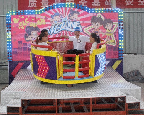 All You Need To Know About The Tagada Amusement Park Ride