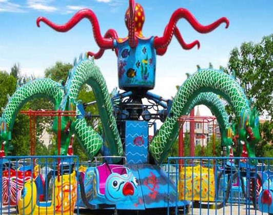 Amazing Rides - What To Expect In A Octopus Carnival Ride