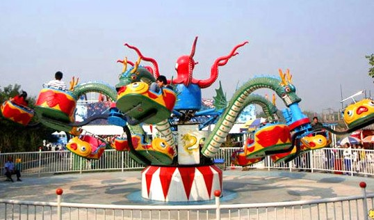Octopus Fair Rides - Will You Get Sick?