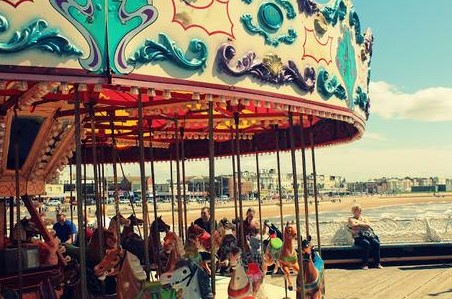 Relive Your Childhood Memories On A Carousel