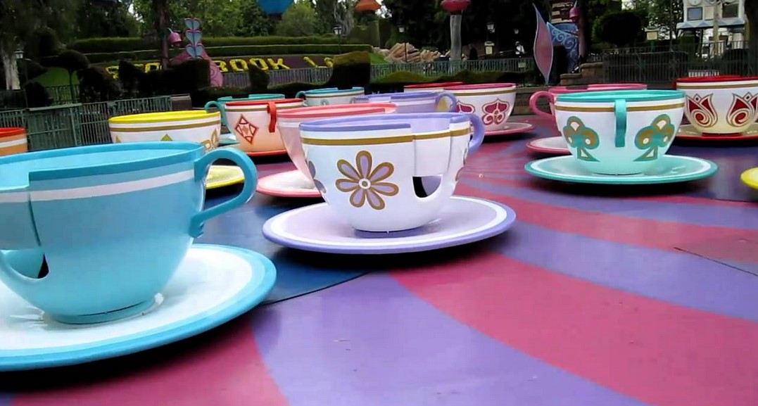 Teacup Rides Are One Of The Most Popular Amusement Park Investments