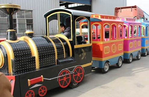 The Appearance Of Trackless Train Rides Worldwide