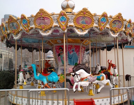 The Joys Of Riding A Quality Carousel Horse