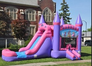 Why Get A Princess Inflatable Bounce House With Slide For A Girl