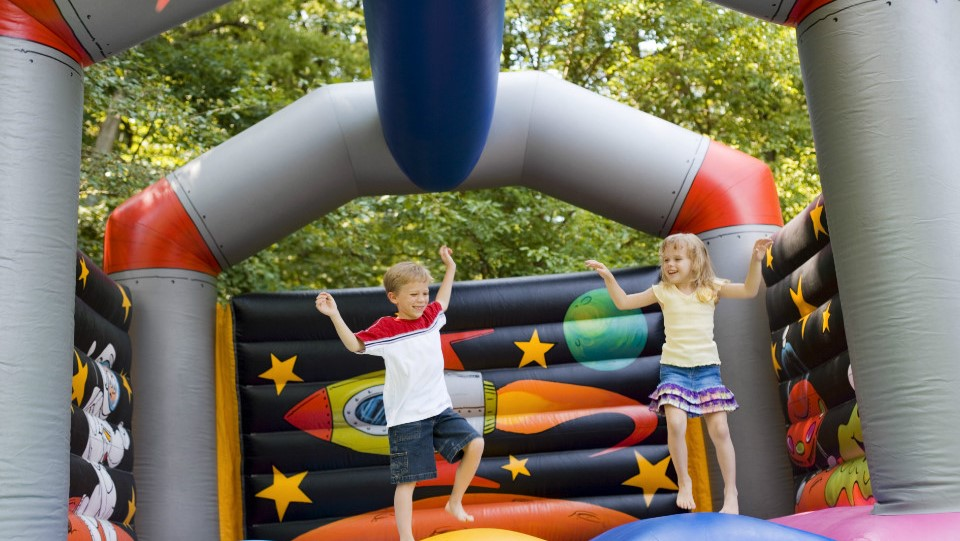 Common Types Of Bounce House Combo