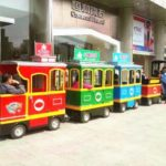 Dotto Trains And Amusement Trackless Trains Differences