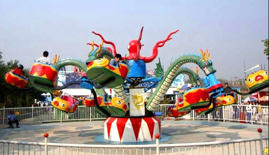 Finding A Theme Park Octopus Ride For Sale
