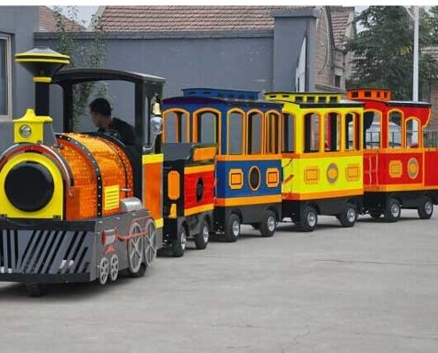 Finding A Tourist Trackless Train For Sale