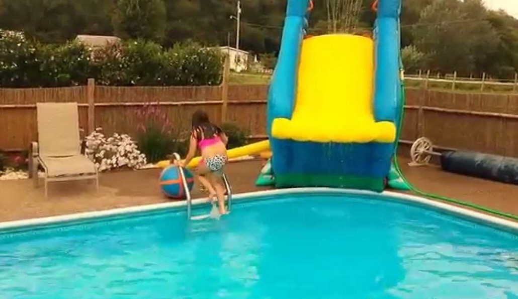 Have Fun With Inflatable Pool Slides This Summer