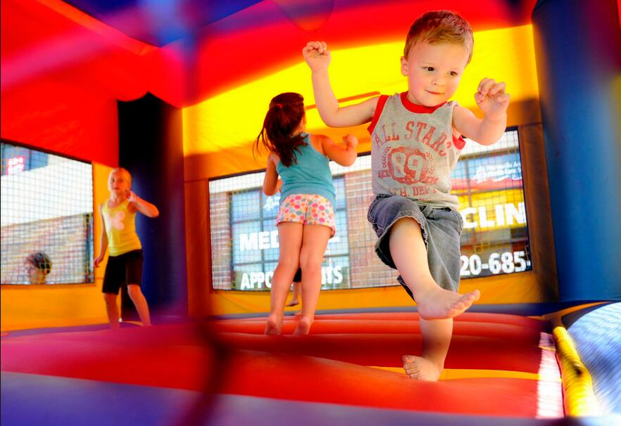 Inflatable Bounce Houses Are Fun For Kids