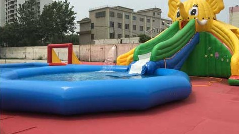 Reasons Why People Like Playing In the Inflatable Pool Slide Combo