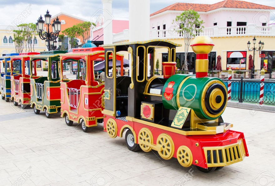 The Great Fun of Amusement Park Trains