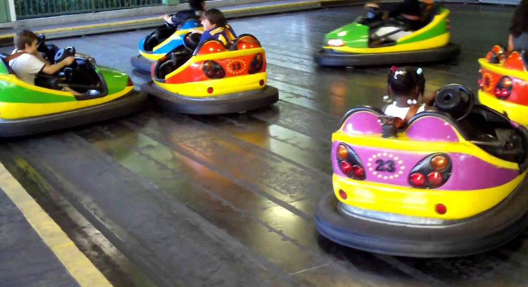 Vintage Bumper Cars A Great Addition