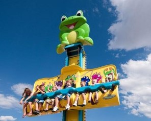 Why Do Children Love The Frog Hopper Ride?