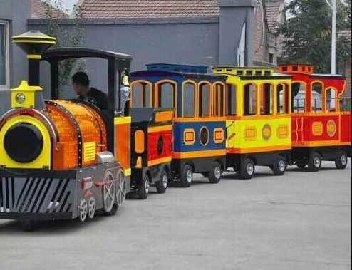 Why Kids Love Trackless Trains At Shopping Malls