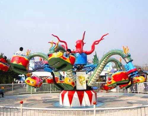 The Octopus Ride is a Fun Amusement Park Experience