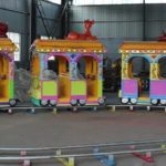 Mini Electric Kiddie Train Rides With Tracks For Sale