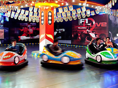 Electric Bumper Cars For Theme Parks