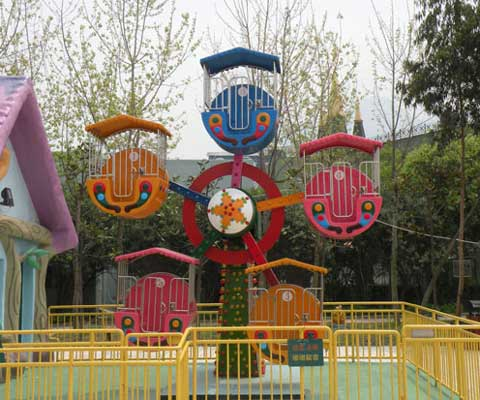 Beauty Of Mini Ferris Wheel For Kids