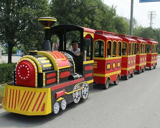 Mini Trackless Train Rides For Families