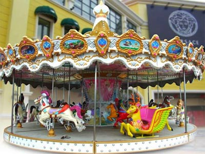 Add A Reproduction Of An Antique Carousel To Your Theme Park